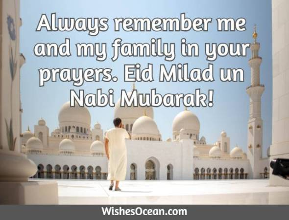Eid Milad un Nabi Messages