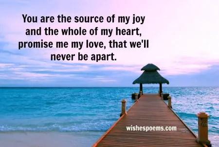short love poems for him
