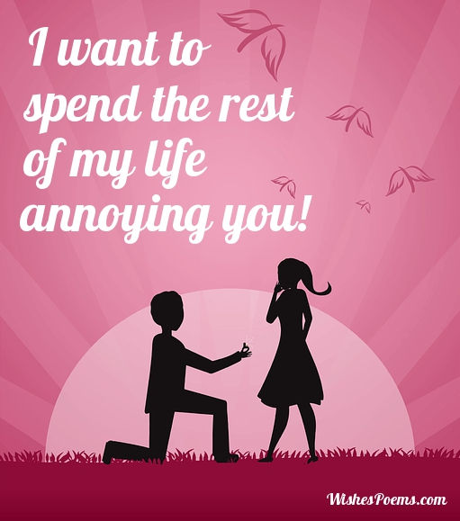 Romantic wordings