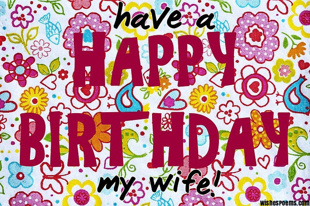 happy birthday my wife