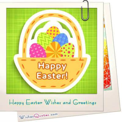Happy Easter Wishes And Greetings WishesQuotes