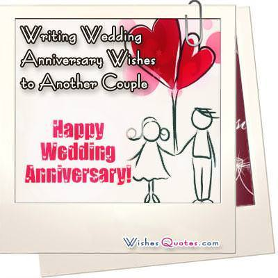 Writing Wedding Anniversary Wishes WishesQuotes