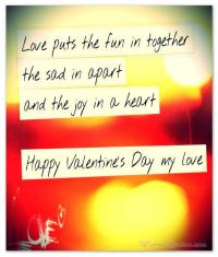 happy valentines day my love poem