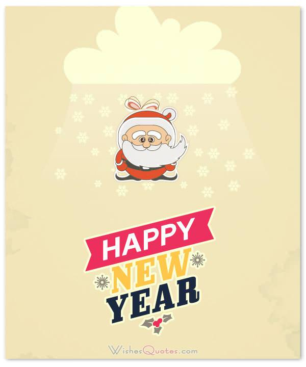 cute new year greetings