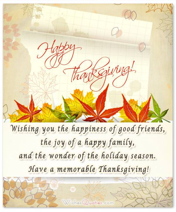 Morning Message Good Giving Thanks