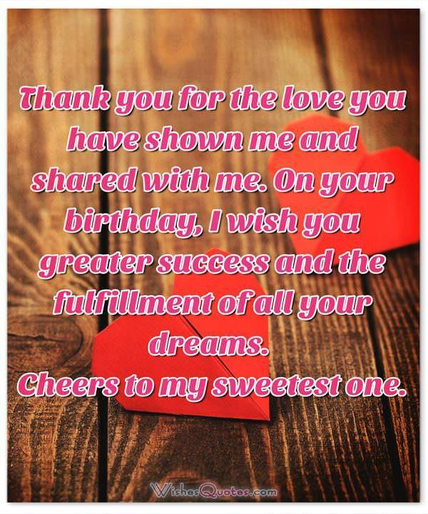 Special Someone Long Message Sweet