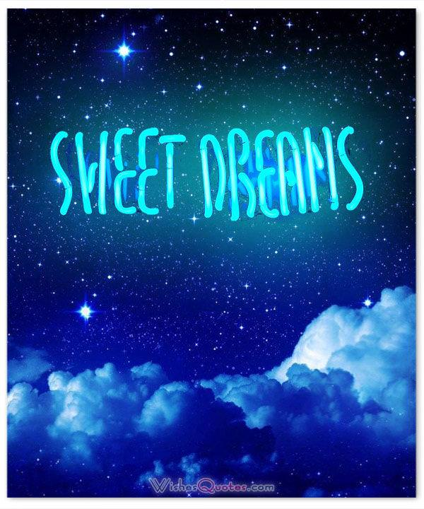 Good Night Quotes Sweet And Images Dreams