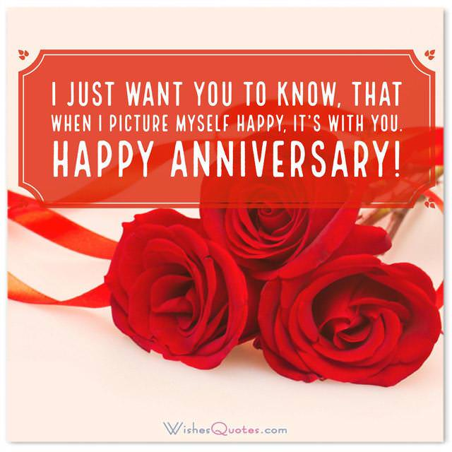 1st Wedding Anniversary Wishes For Wife 6
