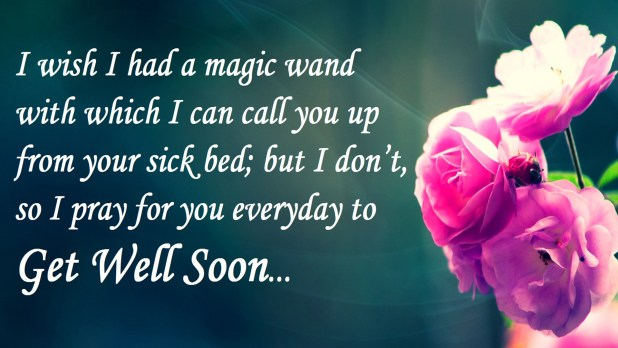 Get Well Soon Quotes & Wishes Images | Get Well Soon Cards