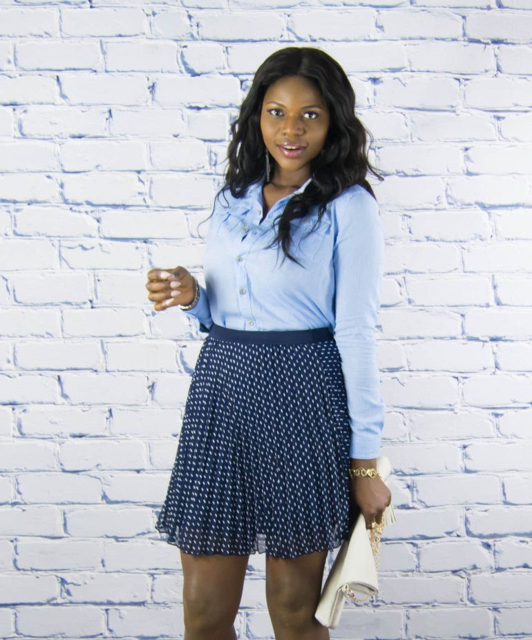 polkadot skirt-denim top-11