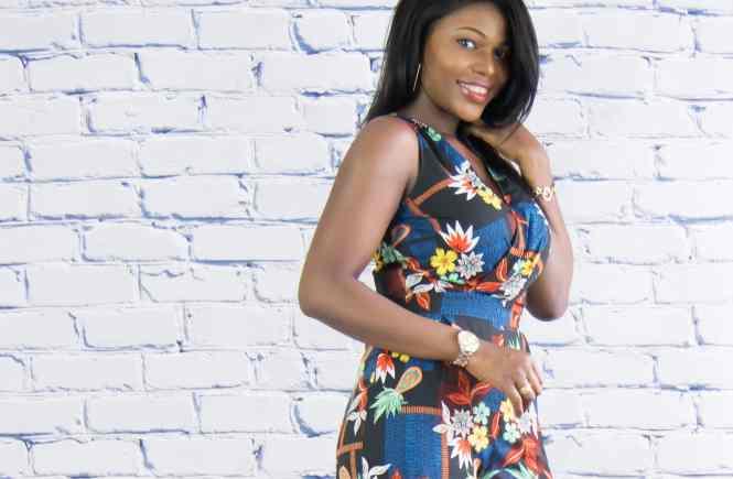 floral culotte jumpsuit outfit