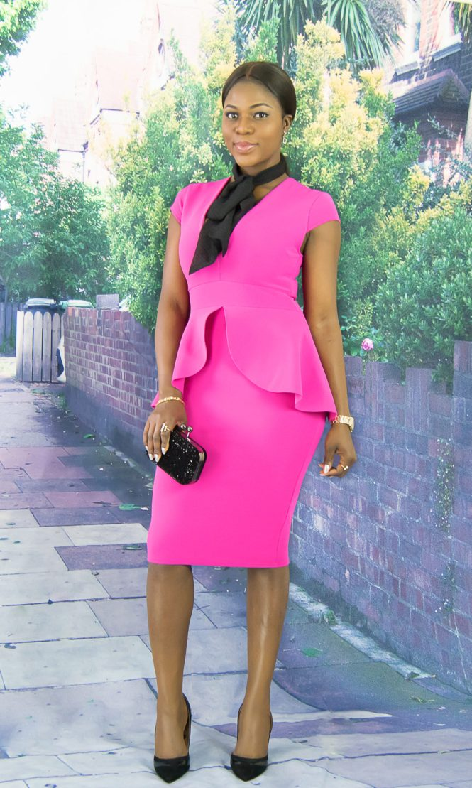 Peplum dress-wishfulelegance