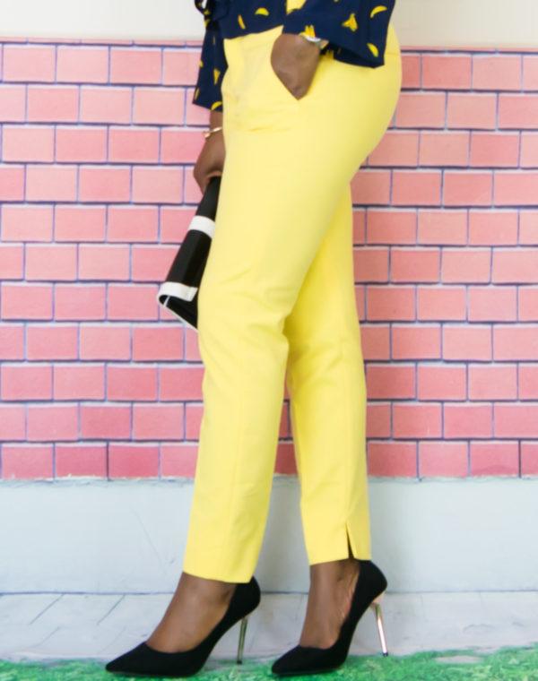 women cigarette trousers