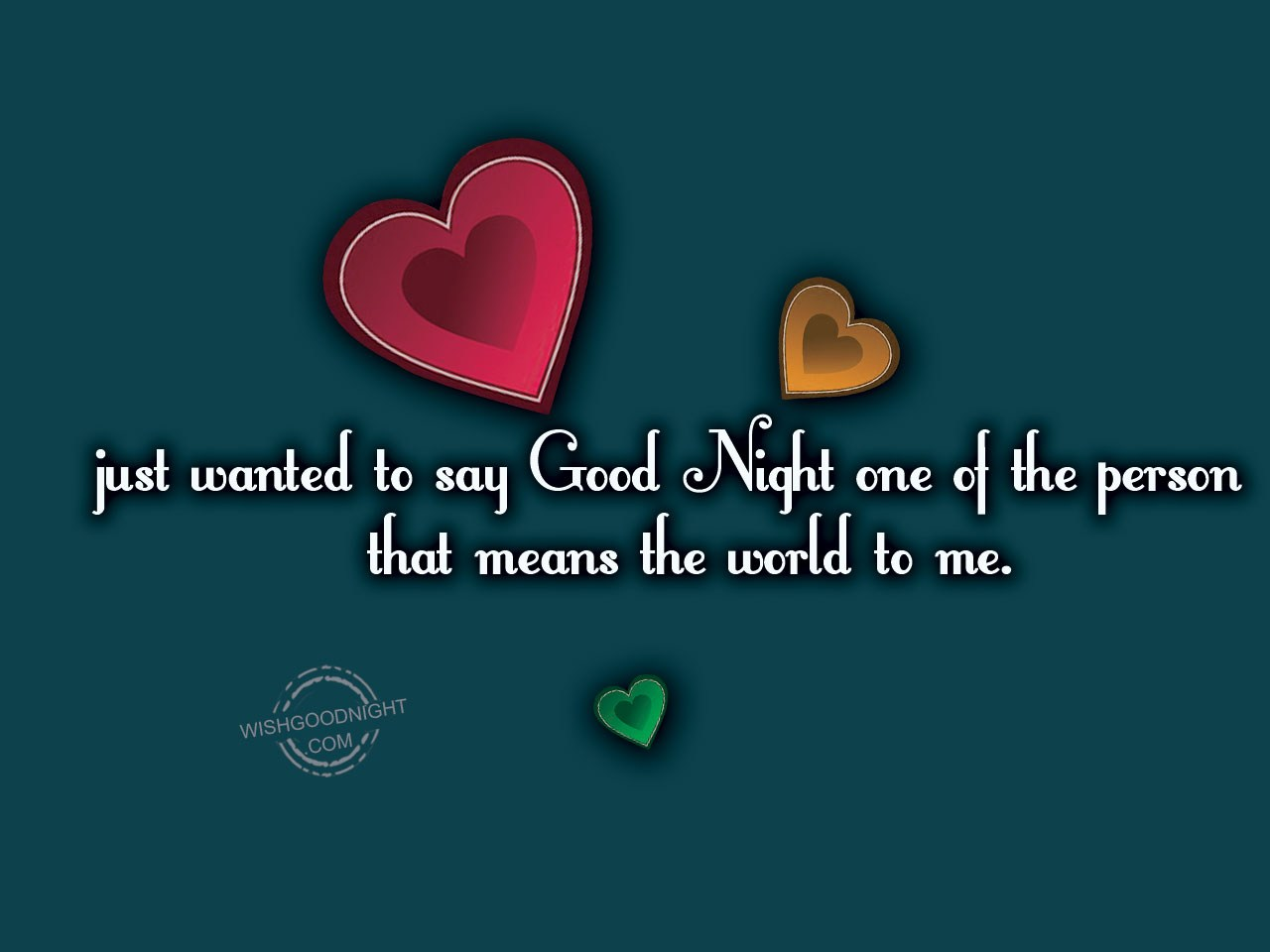 Cute Love Goodnight Quotes