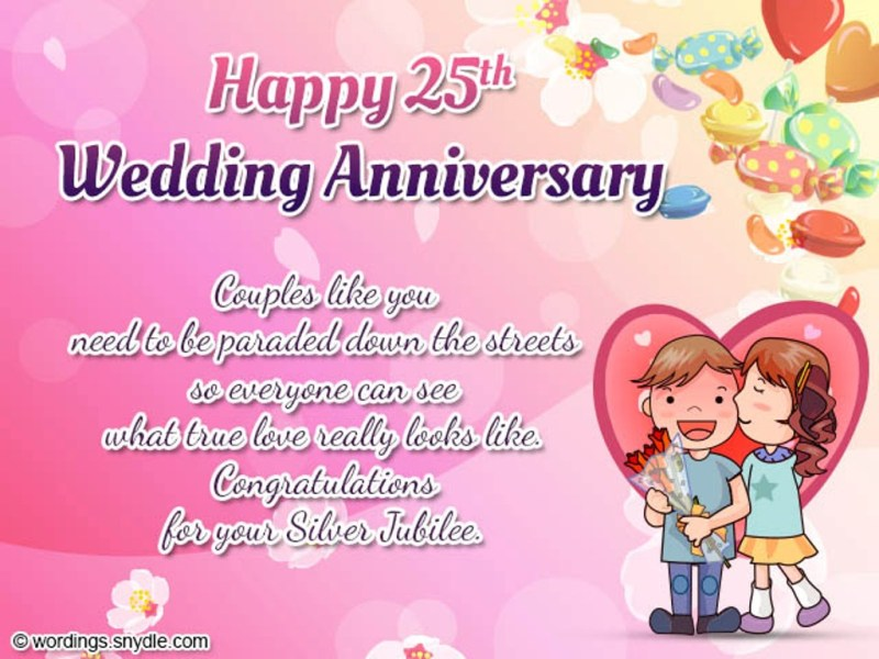 25th Wedding Anniversary Wishes In Telugu Invitationsjdiorg