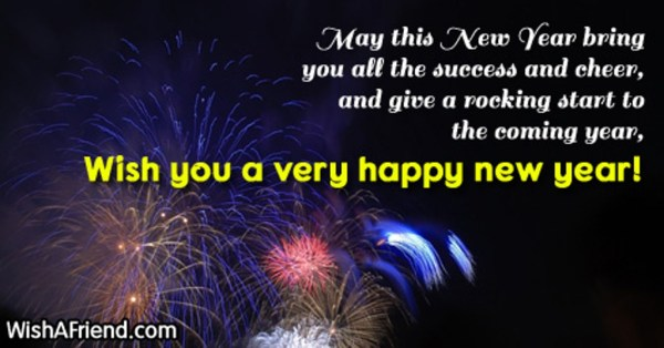 New Year Wishes - Wishes, Greetings, Pictures – Wish Guy