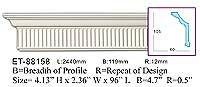ET-88158 Crown Molding