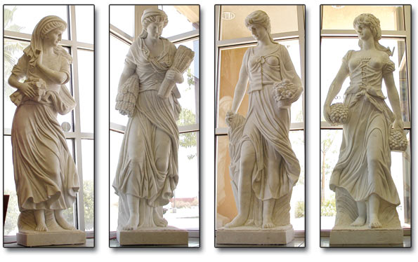 Four Seasons Statues