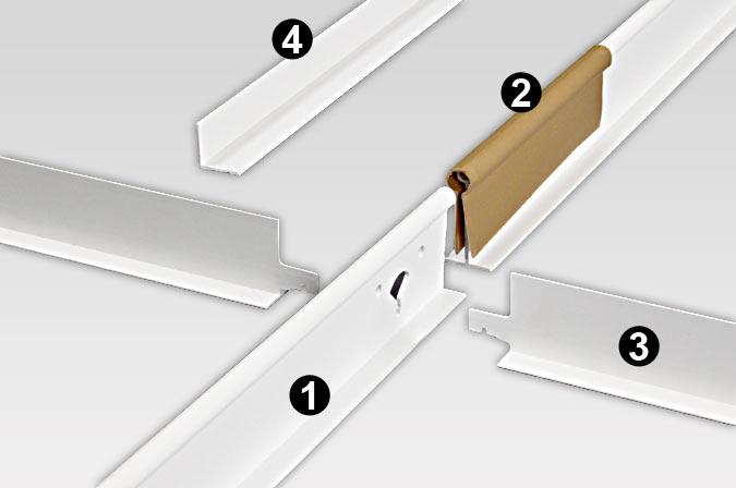 Vinyl Suspension System