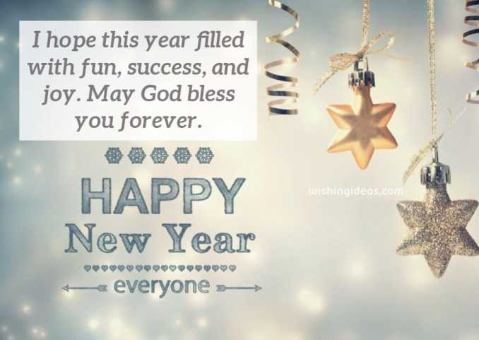 Short Happy  New Year Wishes fot