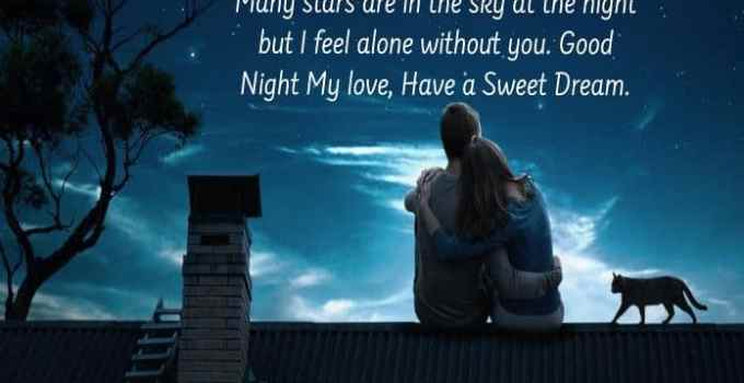 Good Night Image for Lover