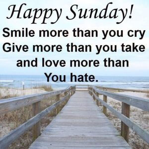 Sunday quotes for facebook