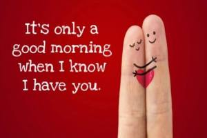Funny good morning texts for her