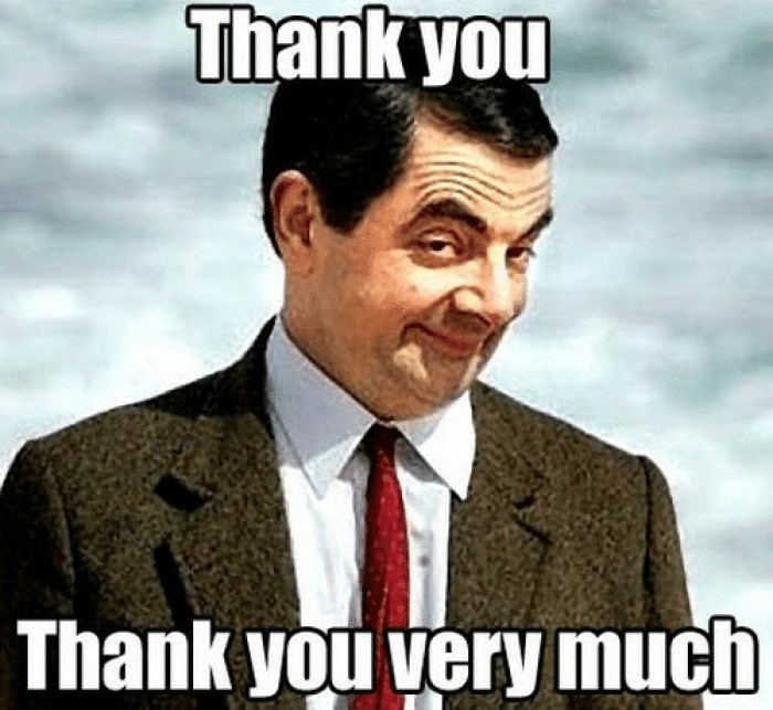 15+ Hilarious Thank You Meme,Images And Funny Thank You Meme