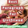 Paragraphs For Girlfriend