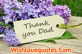 Thank You Messages for Dad