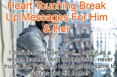 Break Up Messages