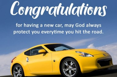 New Car Wishes