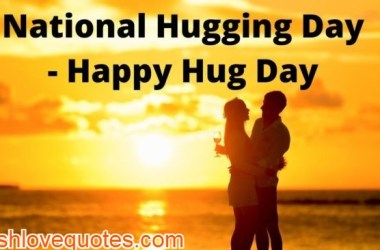 national hug day