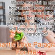 Love Paragraphs For Her