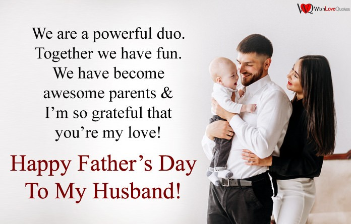 Fathers Day Message From Wife