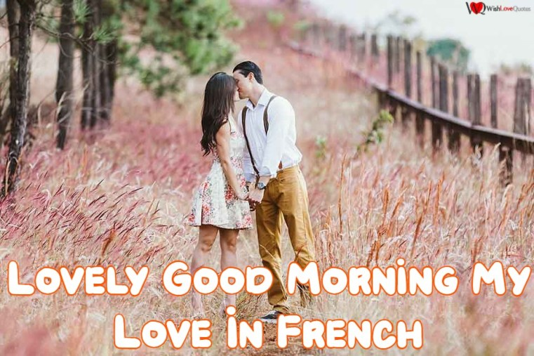Good Morning My Love In French