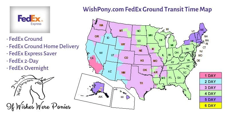Wishpony FedEx Shipping