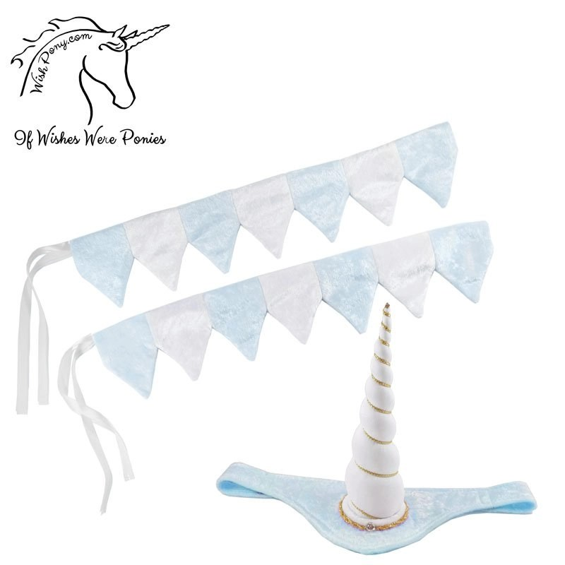 Unicorn Browband™ Rein Covers Set