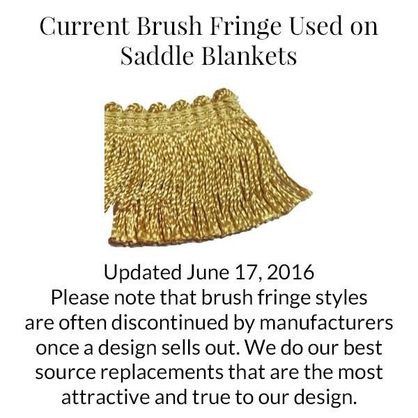 Gold Brush Fringe