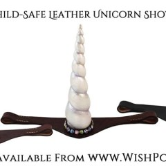 Leather Unicorn Browband