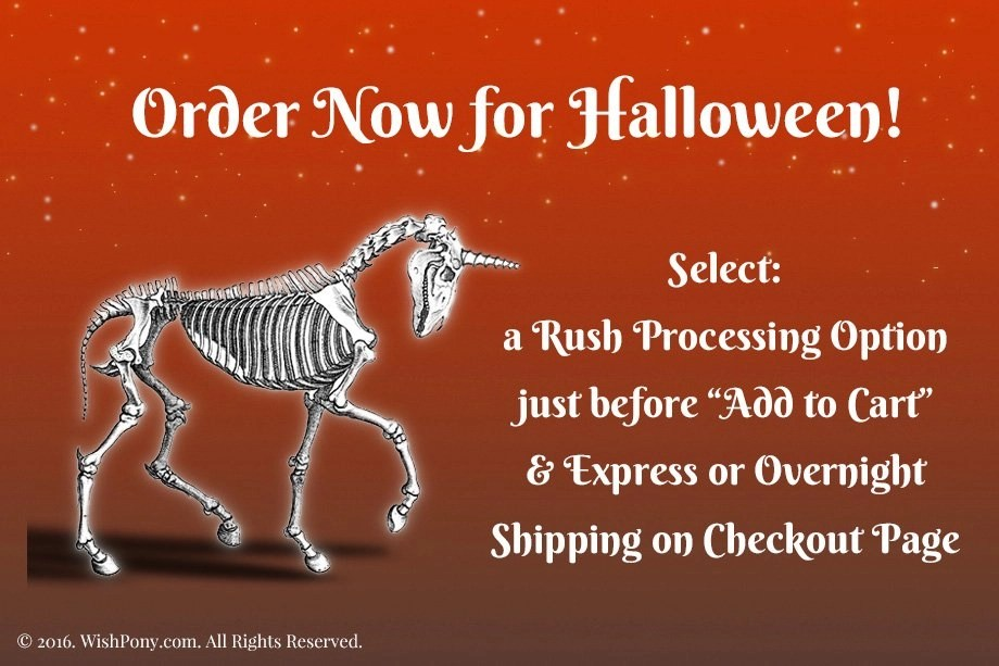 Order Now for Halloween!