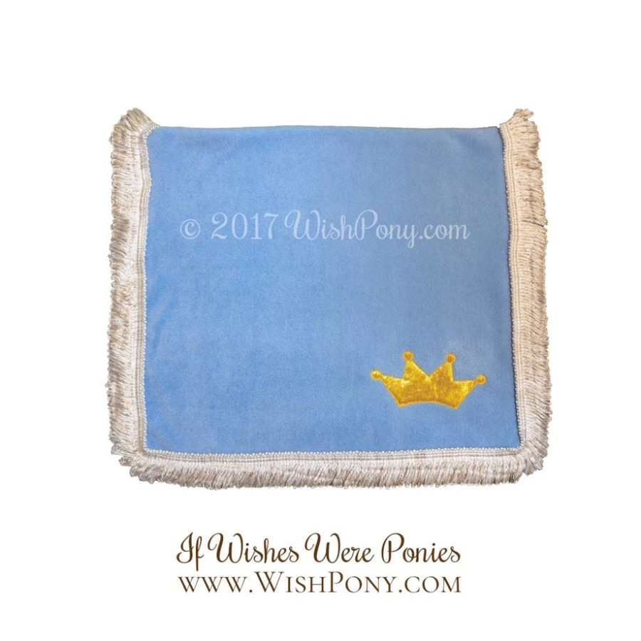 Sky Blue Princess Saddle Blanket