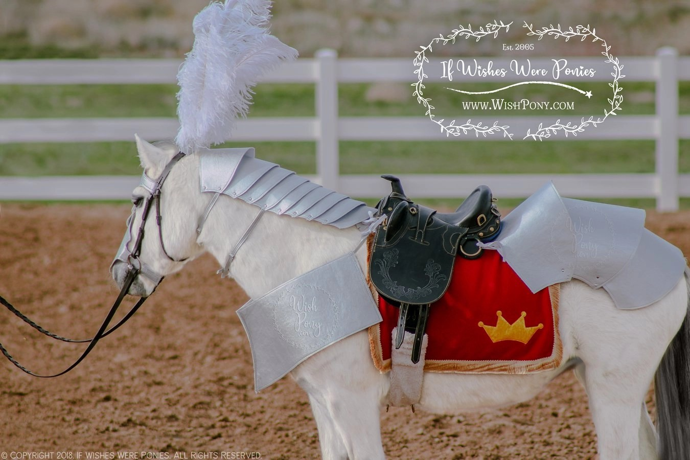 WishPony Armoury Croupière Rump Armour for Horses and Ponies ...