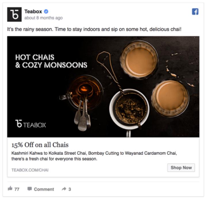 Teabox ad