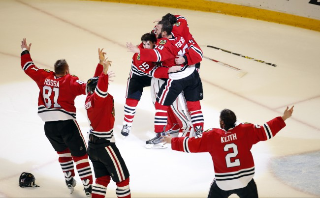 Stanley Cup Lightning Blackhawks Hockey_173512