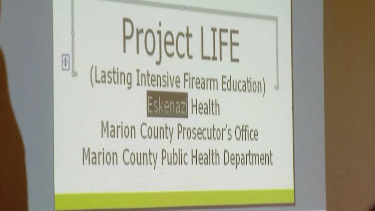 Hospital's program for gunshot victims