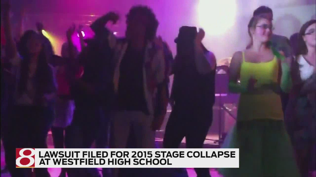 Parent files lawsuit over Westfield High School stage collapse