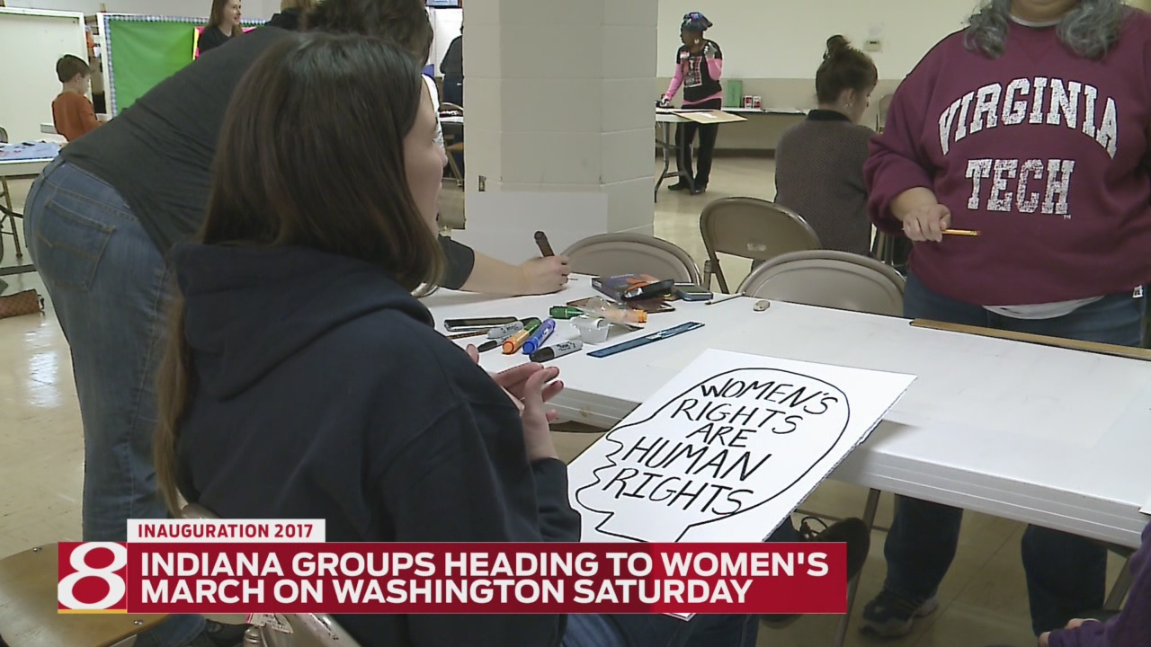 Women from Indiana traveling to DC for Women's March on Washington