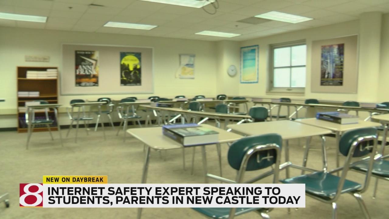 Online safety expert to talk with New Castle students, parents Thursday