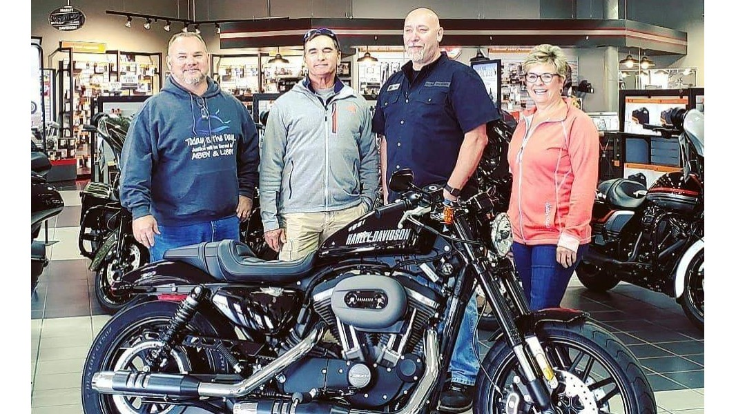 Motorcycle raffle benefits Abby and Libby memorial